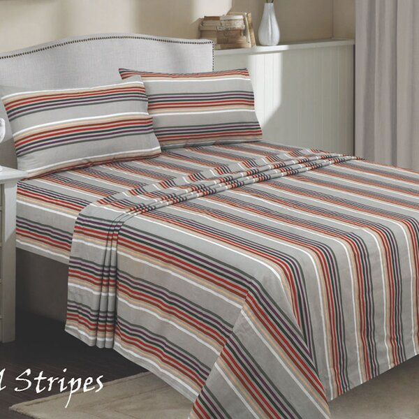 Callingwood 300 Thread Count 100% Cotton Sheet Set by Red Barrel Studio